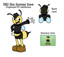 Mil the honey bee .:Reference:. by Uketello