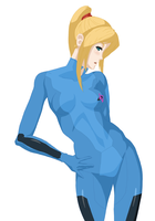 Samus Aran by pillowds