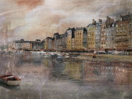 Honfleur by nicolasjolly