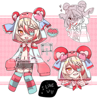 [CLOSED] Yandere Boy Set Priced Adopt by Himetochan
