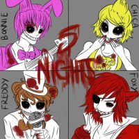Five Nights at Freddy's by MissBenihime