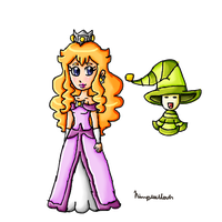 Princess Fable and Dreamie by ninpeachlover