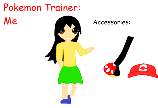 Pokemon Trainer: Me by Blizzard-and-Friends