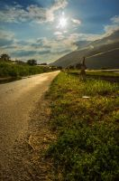 Ever the long roads wind by RunningFlames
