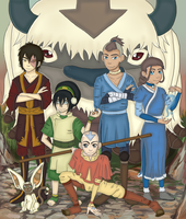 avatar: the last airbender by uyuh