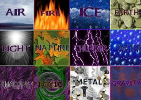 The elements by Caneleb