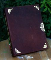 Leather Bound Book by TimBakerFX