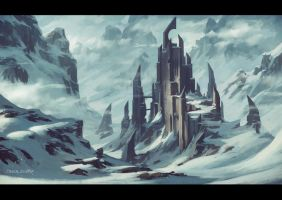 Winter Castle.. again :) by draken4o