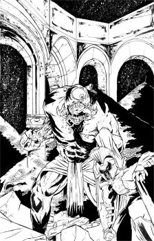 Reclaiming Godhood Comic Cover Issue 2 by brendanpurchase