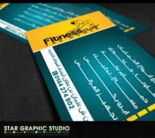 Fitness Club Card by xmangfx