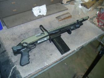 Mossberg Riot Converstion by FNPhil