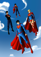 Super-Family by amateurartworker
