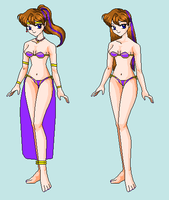 Sophia Space Harem outfit by Dinalfos5