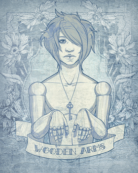 wooden arms. by crrristian
