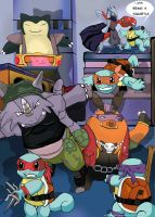 Teenage mutant ninja squirtles by jinjo111