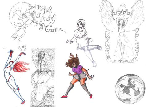 Sketch Dump 2 by fablehill
