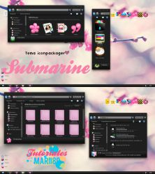 Theme Iconpackager Submarine by maritzha89