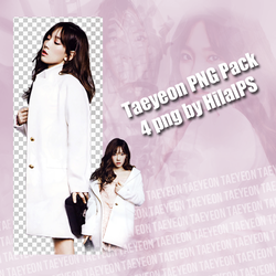 Taeyeon Png Pack by HilalPS