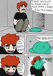 Beo vs Slime Pg 4 by LuckyNothin