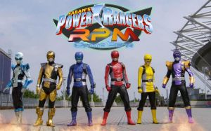 Power Rangers RPM Gamma Beta team by Andruril93