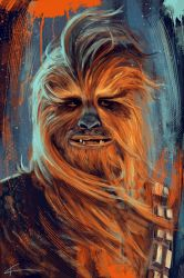 Chewie, we're home! by apfelgriebs