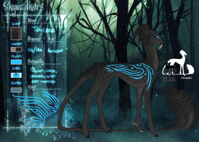 [ OC ] Tenebris Reference 2016 by silent-umbra