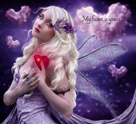 My heart is yours by EstherPuche-Art