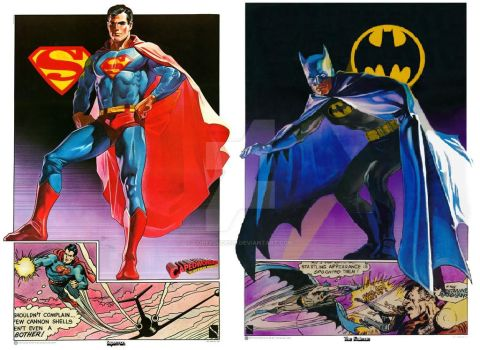 Superman Batman 1977 by Copeydude101