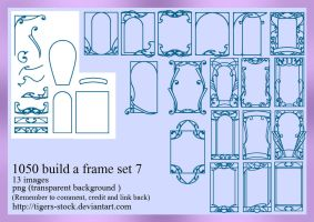 1050 Build A Frame Set 7 by Tigers-stock