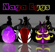 [A] Mystery Naga Eggs CLOSED by TheStevieBoy