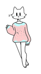 CLOSED : Sweater Weather Kitty Adopt by Violeta-Adopts