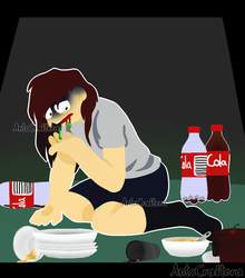 Binge Eater by AntoCraftera-YT