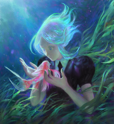 Phos under the sea by Piloreta