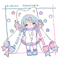 Open ! Kawaii RiiBunn Pastel Kitty Girl by zomgO3O