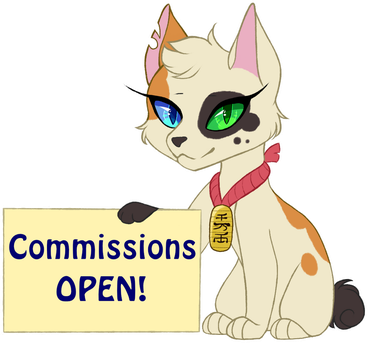 Commissions Open by StellarComet