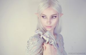 Elf and Dragon by AlysonTabbitha