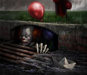 We All Float Down Here 2017 by jhuertajr