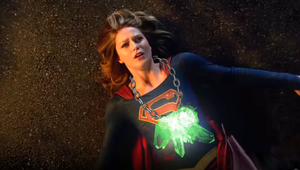 Supergirl and the kryptonite Necklace by Tormentor-X