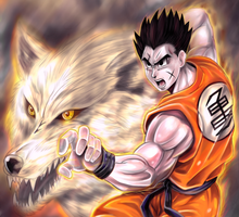 Yamcha by BlackExcell