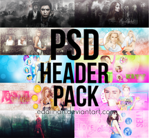 HEADER PACK by Edailhan