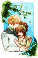 :Gift: Moment of Tenderness by Doria-Plume