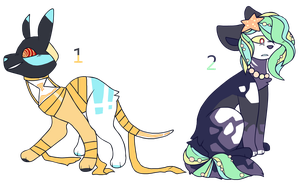 Land and sea (CLOSED) [ADOPT] by Mburker