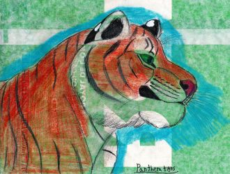 Panthera Tigris by imaginativegenius099