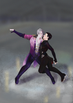 Yuri!!! on Ice: Victuuri by T4IRO