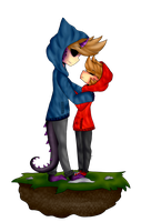 I love your smile.. [Eddsworld / TomTord] by N-Nesias
