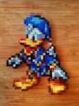 Donald Duck beadsprite by Sandien