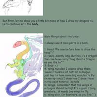 How I draw dragons part I by mythori