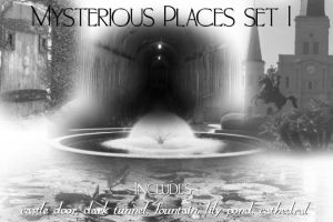 Mysterious Places I PS Brushes by alianora