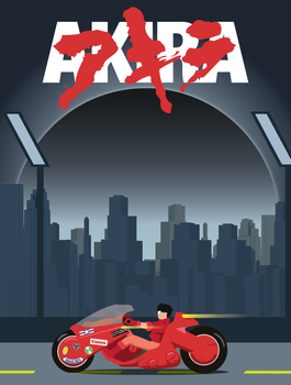 akira Vector by awr8305