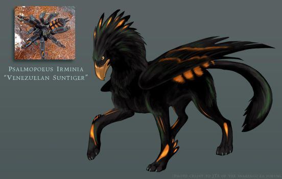Suntiger Gryphon by gryphonworks